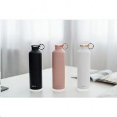 Equa Smart – chytrá lahev, ocel, mramor, Snow white