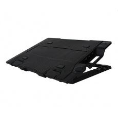 """ZALMAN ZM-NS2000, Chladící podložka pro NoteBook do 17"""", výškově stavitelný, černá"""
