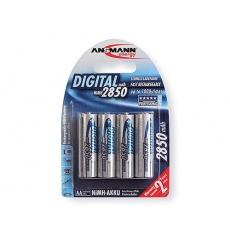 Baterie - Ansmann Mignon 4xAA Typ 2850 min 1,2V/2650 mAh DIGIT