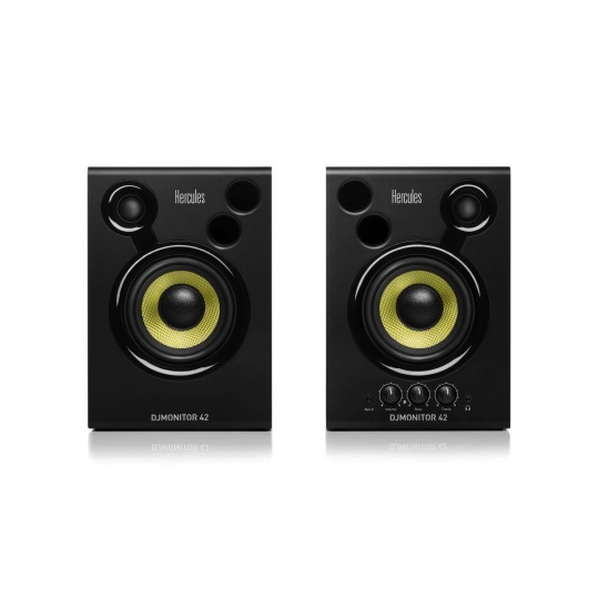 Hercules DJMonitor 42, sada 2 aktivních DJ reproduktorů (4780886)