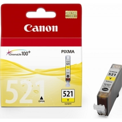 Canon BJ CARTRIDGE CLI-521Y  (CLI521Y)