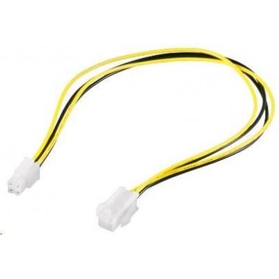 PREMIUMCORD Kabel napájecí interní 4pin, prodlužovací 37cm (1x P4)