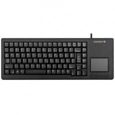 CHERRY klávesnice G84-5500, touchpad, ultralehká, USB, EU, černá