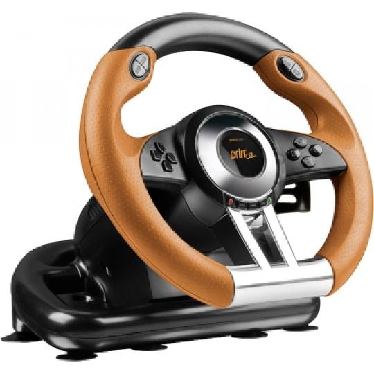 SPEED LINK závodní volant DRIFT O.Z. Racing Wheel, black-orange