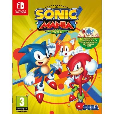 Nintendo Switch hra SONIC MANIA PLUS