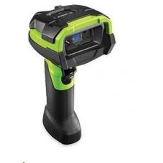 Zebra průmyslová čtečka DS3608-SR 2D odolná GREEN, vibrace USB KIT