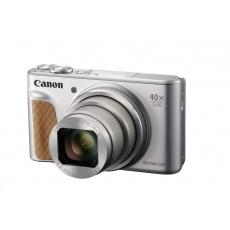 Canon PowerShot SX740 HS, 20.3Mpix, 40x zoom, WiFi, 4K video - stříbrný - Travel kit