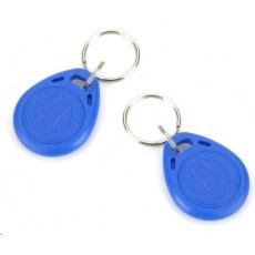 ESES klíčenka RFID, 125 KHz modrý, vyražené číslo, 100-pack