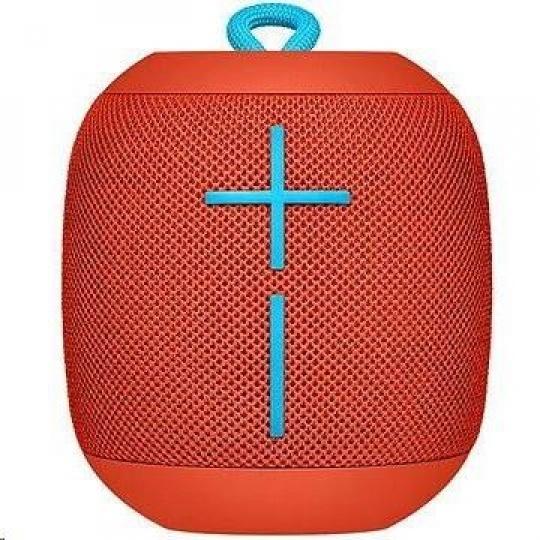 Logitech Speaker Ultimate Ears WONDERBOOM, Bluetooth, red