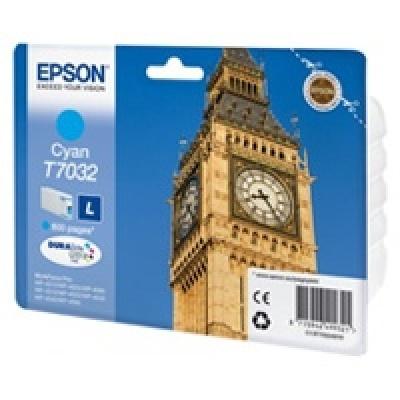 EPSON Ink bar WorkForce-4000/4500 - Cyan L - 800str. (9,6 ml)