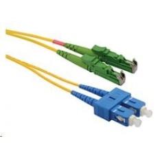 Solarix Patch kabel 9/125 E2000apc/SCupc SM OS 3m duplex SXPC-E2000/SC-APC/UPC-OS-3M-D