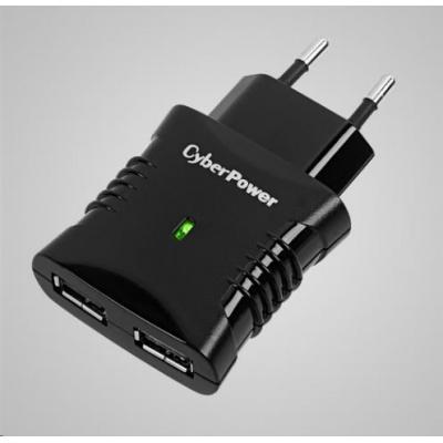 CyberPower Rychlo nabíječka 2xUSB (2.1A)