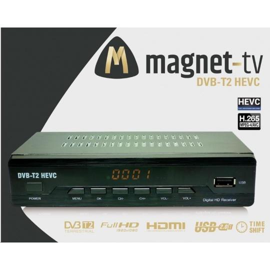 MAGNET-TV DVB-T2 HEVC (H.265) CZ DVB-T2