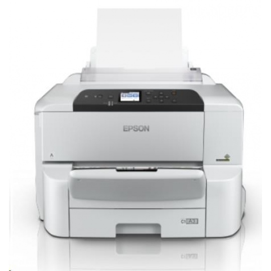 EPSON tiskárna ink WorkForce Pro WF-C8190DW, A3, 35ppm, Ethernet, WiFi (Direct), Duplex, NFC, 3 roky OSS po registraci