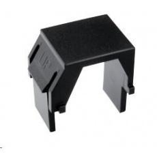 Solarix Keystone záslepka do modulárních patch panelů nebo zásuvek černá / 10ks SXKJ-0-BK