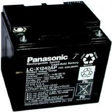Baterie - Panasonic LC-P1242AP (12V/42Ah - M5), životnost 10-12let