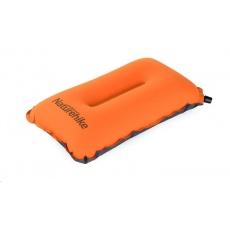 Naturehike samonafukovací komfortní cestovní polštář 250g - oranžový