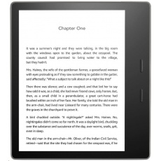 "Amazon Kindle Oasis 7"" 32GB, WiFi (300 ppi) - BLACK / bez reklamy"