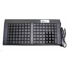 Birch PKB-111 programovatelná klávesnice USB, 111 kláves, černá