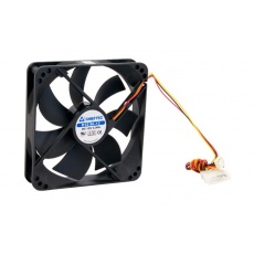 CHIEFTEC větrák AF-1225S, 120x120x25 mm Sleeve Fan, with 3/4pin connector