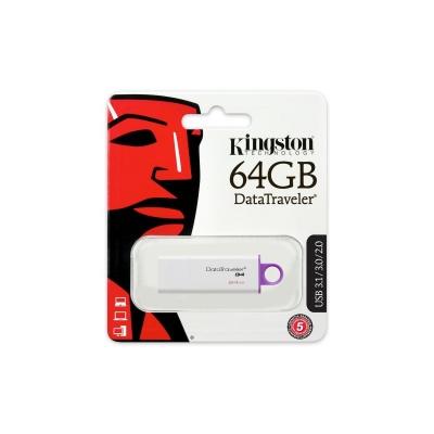 Kingston 64GB DataTraveler DT104 Gen 1 (USB 2.0) - rozbalené zboží