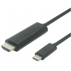 PremiumCord USB3.1 na HDMI kabel 1,8m 4K*2K@60Hz