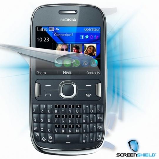 ScreenShield fólie na celé tělo pro Nokia Asha 302