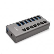 iTec USB 3.0 nabíjecí HUB 7port + Power Adapter 36 W