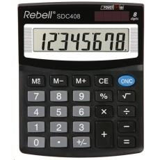 REBELL kalkulačka - SDC408 - černá
