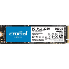 Crucial SSD P2 500GB, M.2 (2280), NVMe