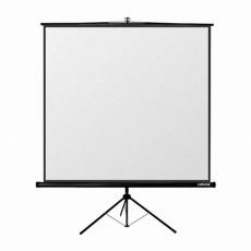 Reflecta TRIPOD Crystal Lux (180x180cm, 2cm černý okraj) plátno stojanové