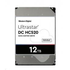 Western Digital Ultrastar® HDD 12TB (HUH721212ALN604) DC HC520 3.5in 26.1MM 256MB 7200RPM SATA 4KN SE