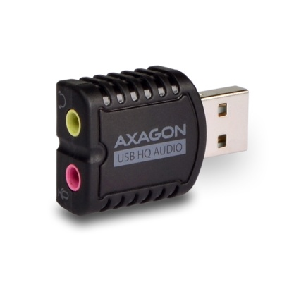 AXAGON ADA-17, USB2.0 - stereo HQ audio MINI adapter 24bit 96kHz