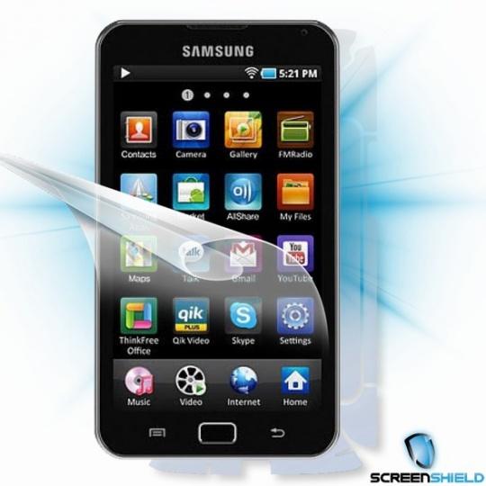 ScreenShield fólie na celé tělo pro Samsung Galaxy S Wi-Fi 5.0 (MID) YP-G70