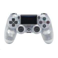 SONY PS4 Dualshock verze II - křišťálový
