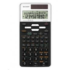 SHARP kalkulačka - EL531TGWH - bílá - box - Solární + baterie
