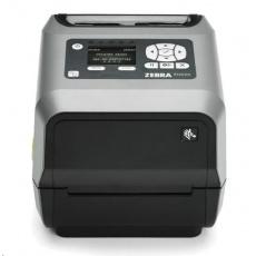 "Zebra TT tiskárna etiketZD620t 4"" LCD 300 dpi, odlepovač, BTLE, USB, USB Host, RS232,LAN, WLAN & BT"
