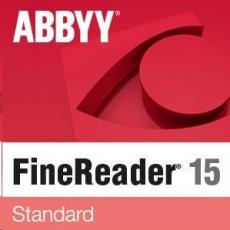 ABBYY FineReader PDF 15 Standard, Single User License (ESD), UPG, Perpetual