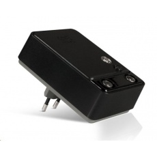 SIGNAL AMPLIFIER 2 way booster with fixed gain of 20dB + LTE filter, black