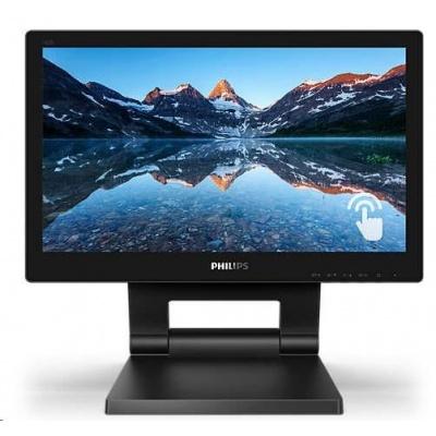 "Philips MT IPS LED 15,6"" 162B9T - touch, 1366x768, D-Sub, DVI, DP, HDMI, USB, repro, nast vyska"