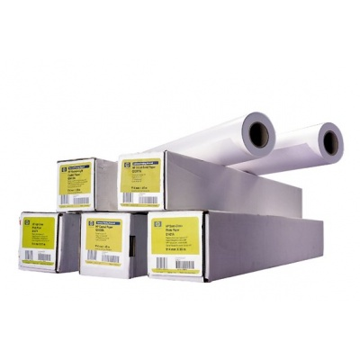 HP Heavyweight Coated Paper-1524 mm x 67.5 m (60 in x 225 ft),  6.6 mil,  130 g/m2, Q1957A