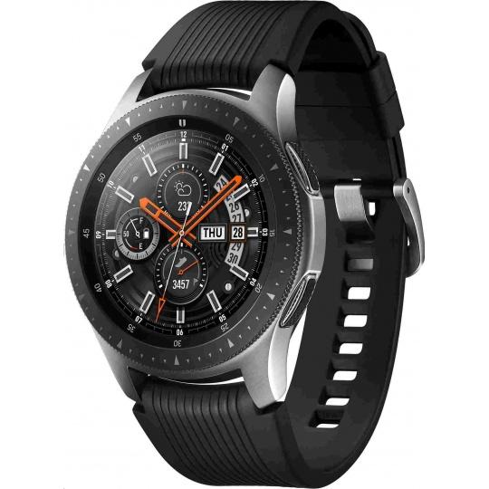 Samsung Galaxy Watch (46 mm), stříbrná