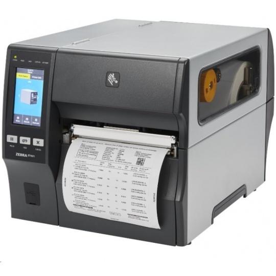 """Zebra ZT421,průmyslová 6"""" tiskárna,(203 dpi),disp. (colour),RTC,EPL,ZPL,ZPLII,USB,RS232,Ethernet"""