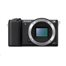 SONY Alfa 5100 fotoaparát, 24.3 MPix - tělo - černé