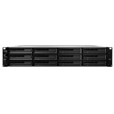 Synology RS3618xs RackStation (4C/XeonD-1521/2,4-2,7GHz/8GBRAM/12xSATA/2xUSB3.0/4xGbE/2xPCIe)