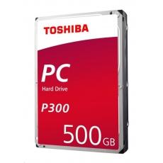 "TOSHIBA HDD P300 Desktop PC (CMR) 500GB, SATA III, 7200 rpm, 64MB cache, 3,5"", BULK"