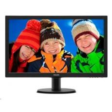 "Philips MT LED 21,5""  223V5LHSB/00 1920x1080, 250cd/m, 5ms, 10mil:1, D-Sub, HDMI"
