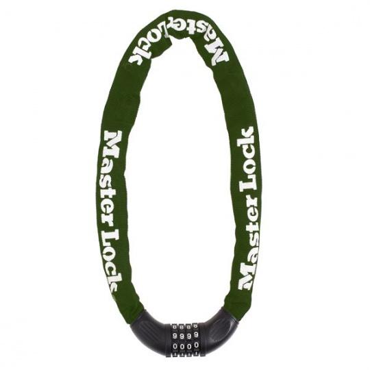 MasterLock 8028EURD Řetěz se zámkem na kód průměr 8mm (1,5m)