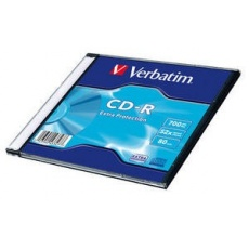 VERBATIM CD-R(200-Pack)Slim/Extra Protection/DL/52x/700MB