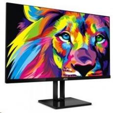 """AOC MT IPS LCD  WLED 27"""" 27V2Q- IPS panel, 1920x1080, 250cd/m, 5ms, HDMI, DP, bezrameckovy design"""